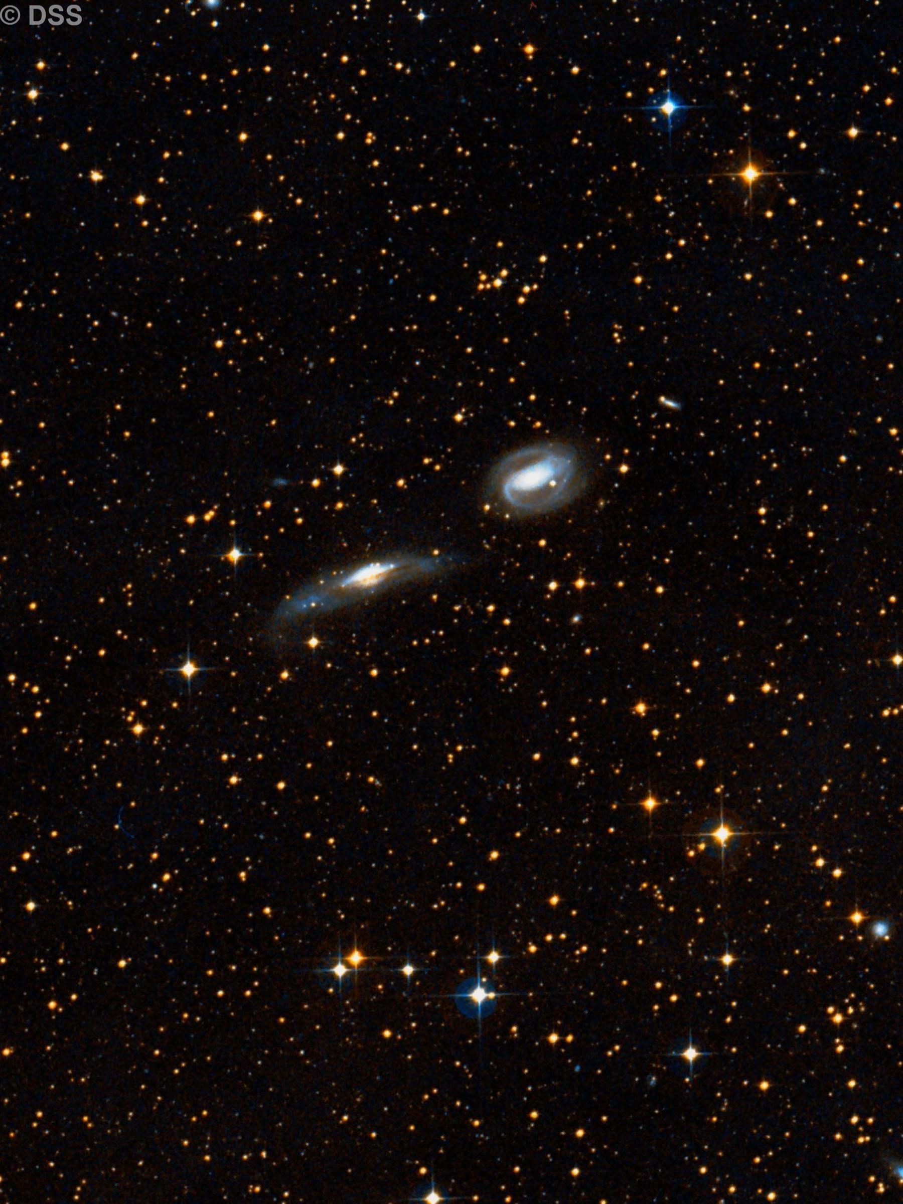 NGC 3742 & NGC 3749