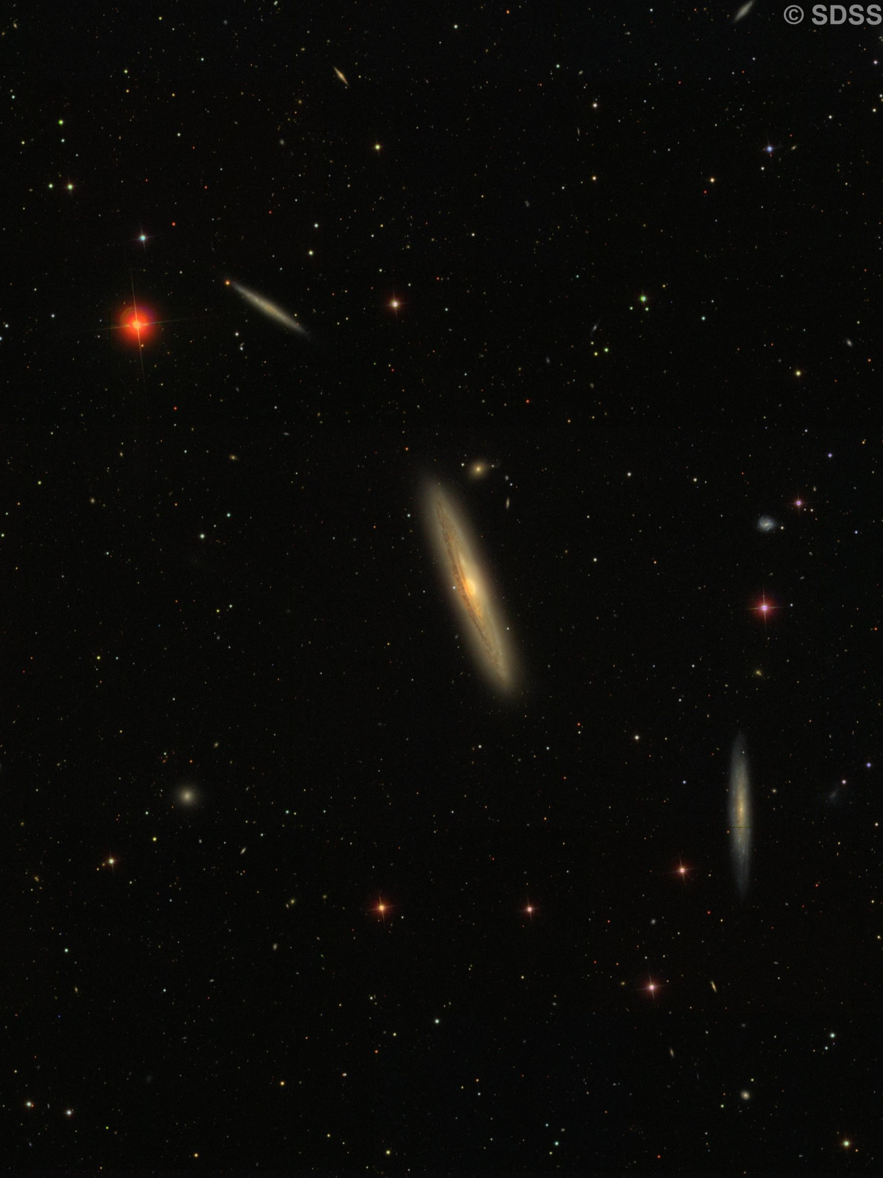 NGC 4206, NGC 4216, NGC 4222