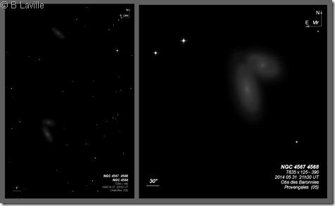NGC 4564 67 68  T254 vs T635 BL