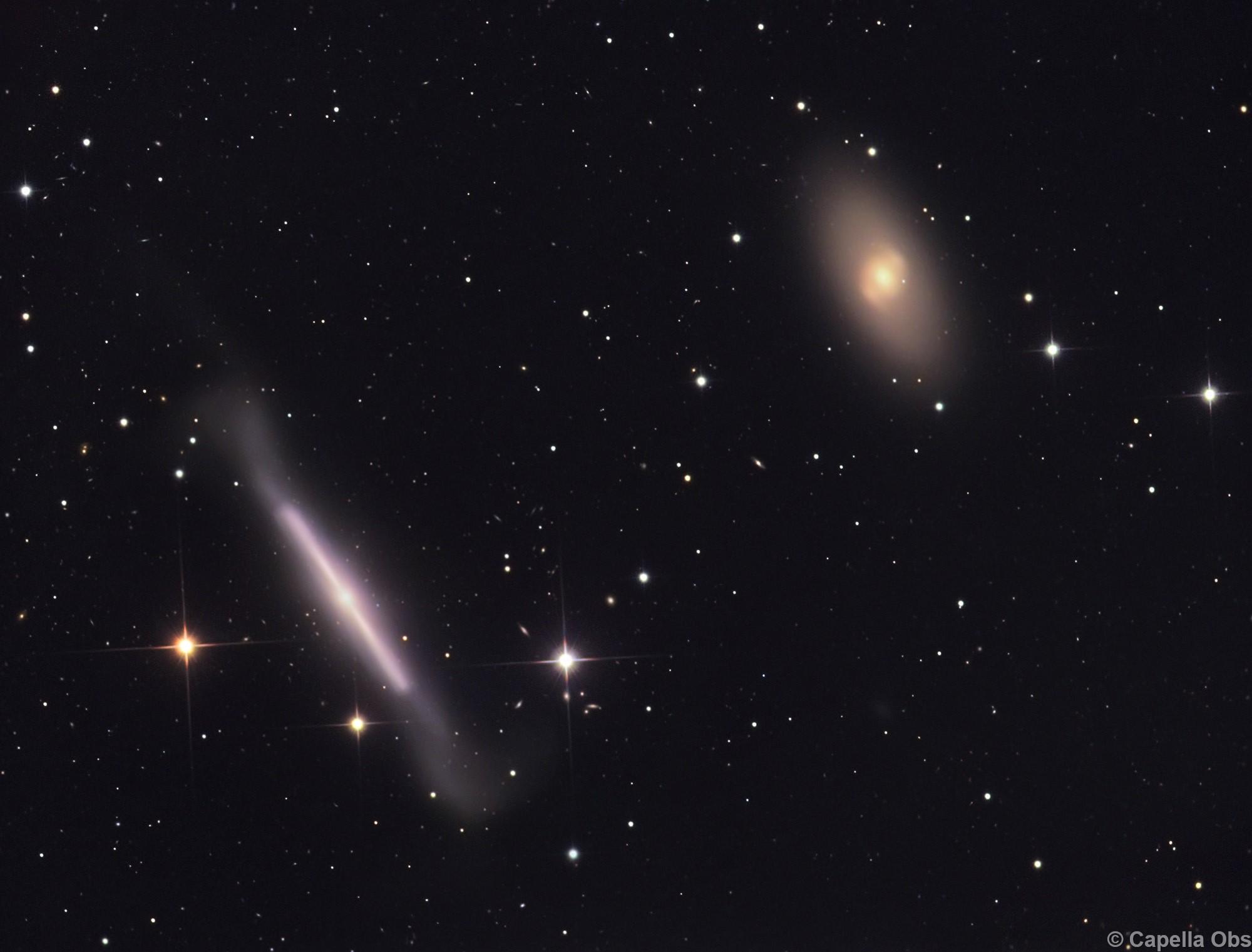 NGC 4754 & NGC 4762