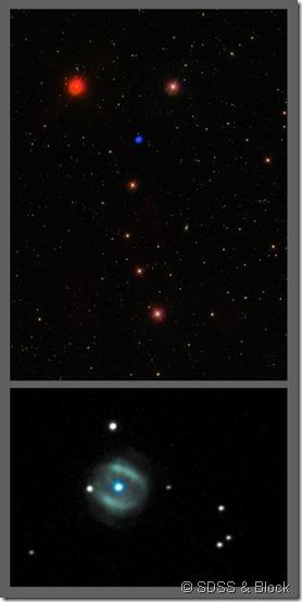 NGC 6058 SDSS & Block