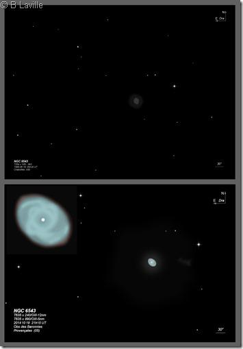 NGC 6543  254 vs 635