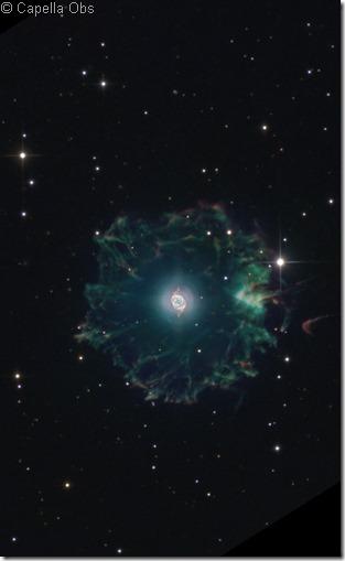 NGC 6543 52  IC 4677 Capella obs crop