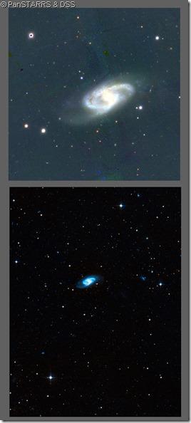 NGC 150 DSS & PanSTARRS