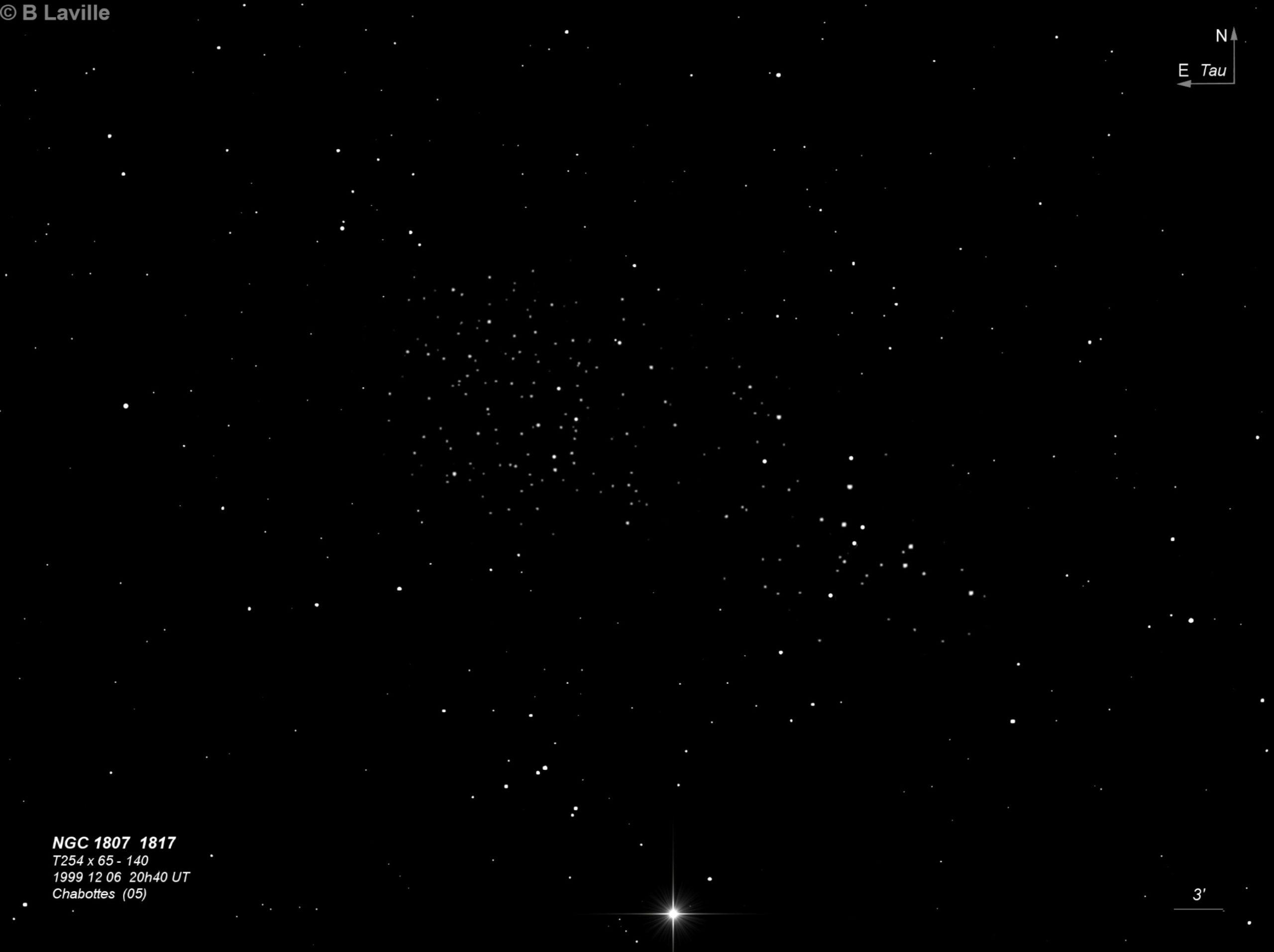 NGC 1807 + NGC 1817
