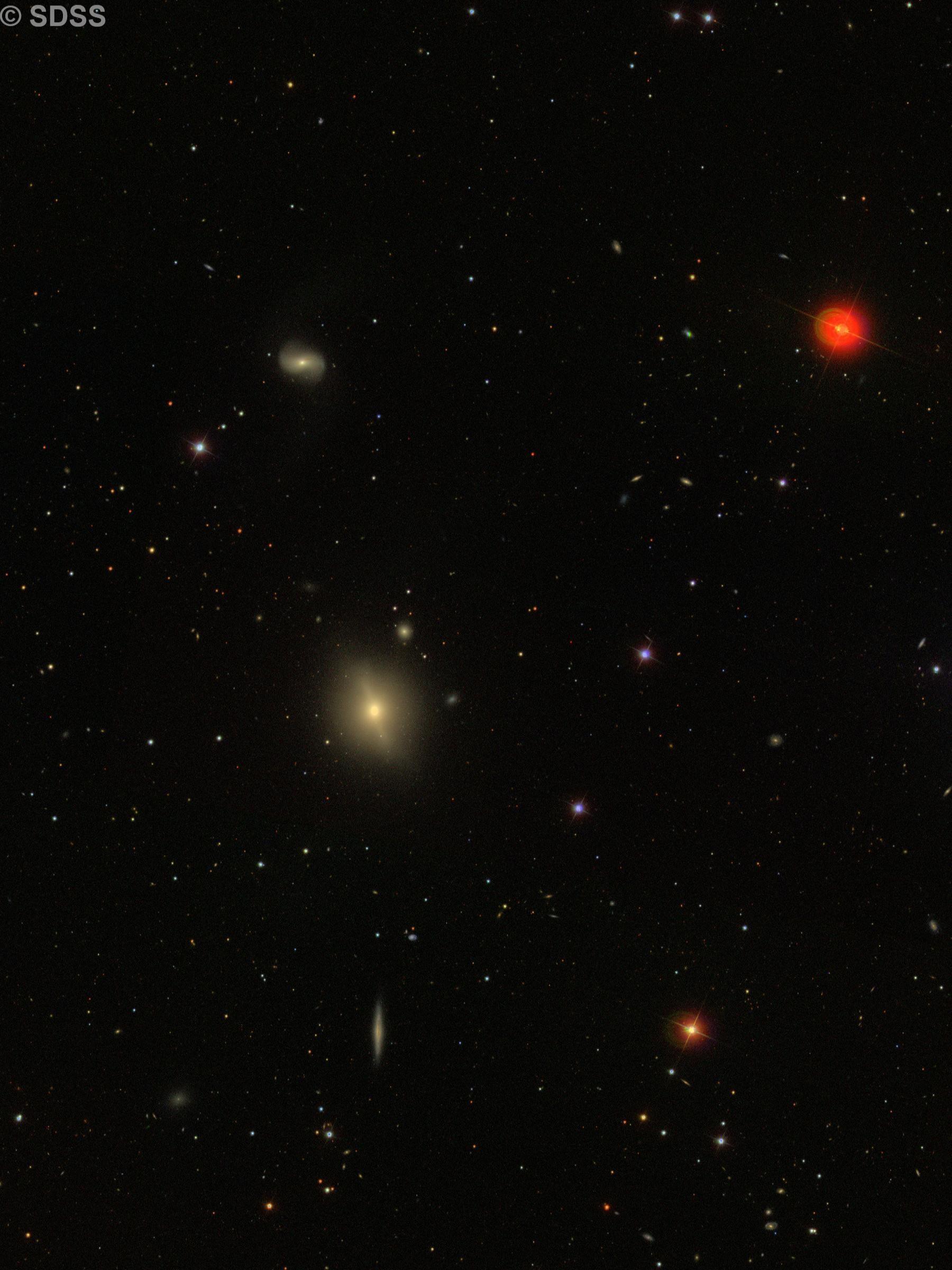 NGC 3414 & NGC 3418  (NGC 3414 = Arp 162)