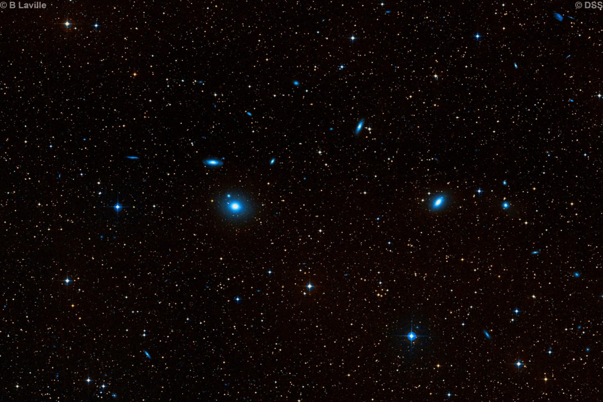 Abell Galaxy Cluster 4927