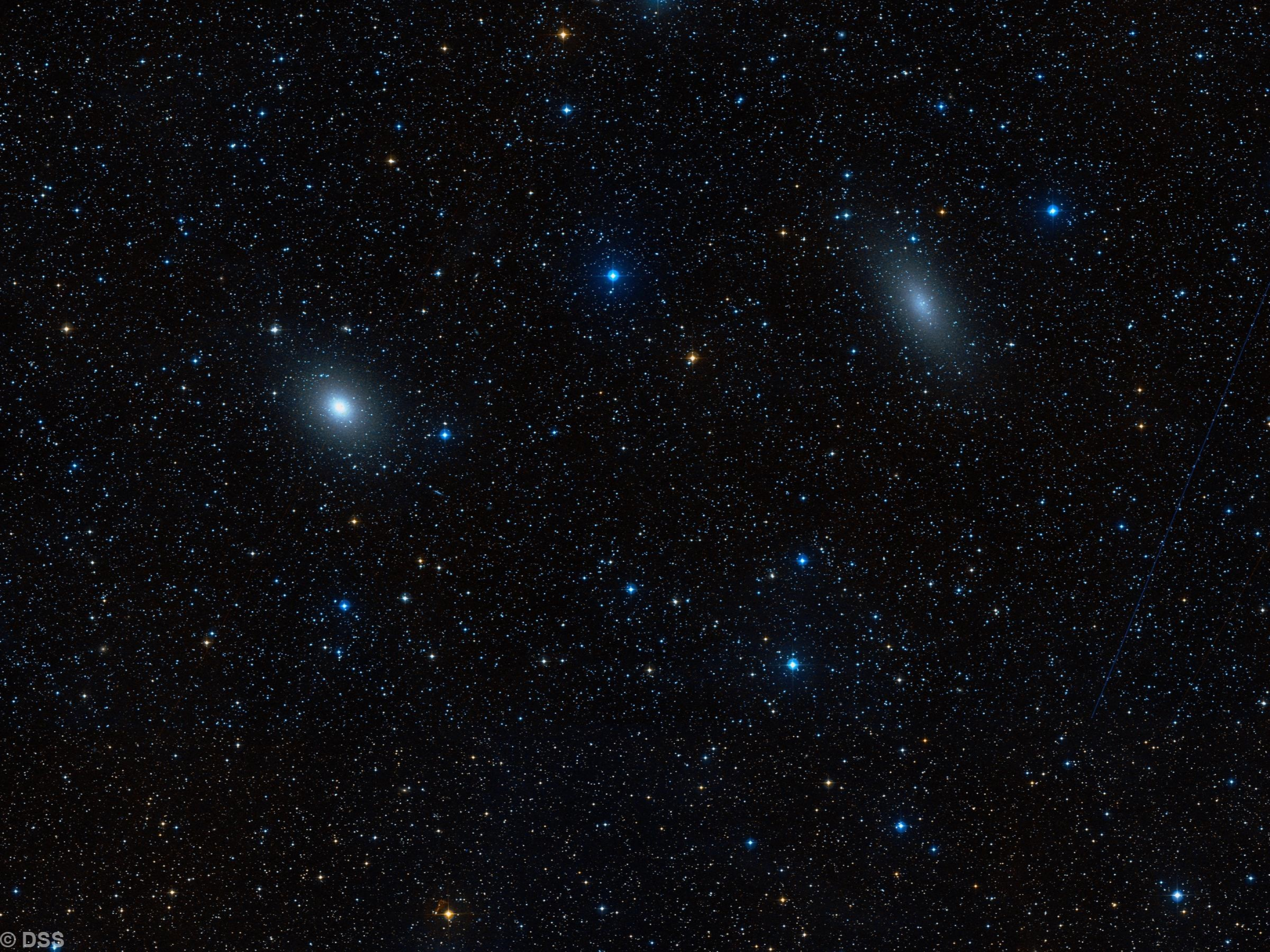 NGC 147 & NGC 185
