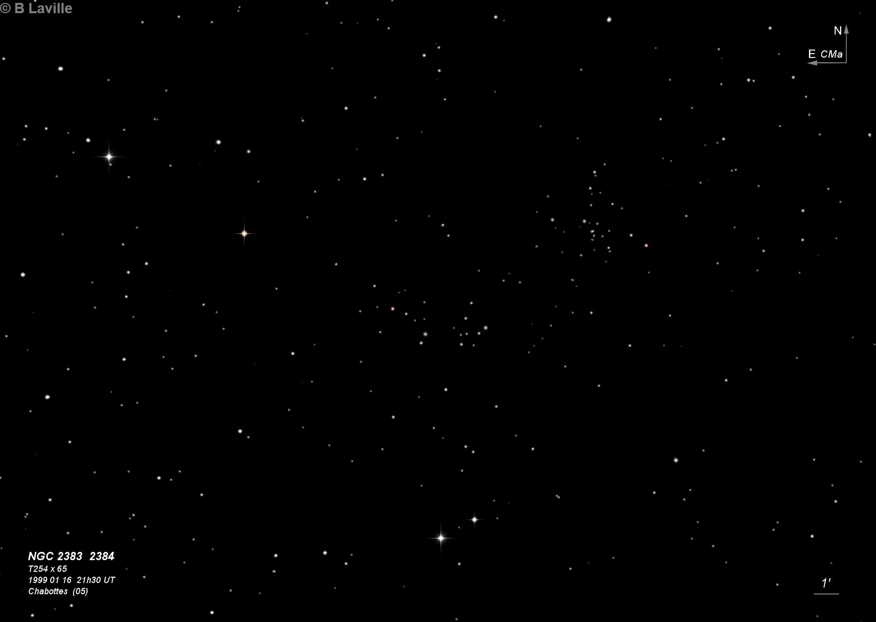 NGC 2383 & NGC 2384