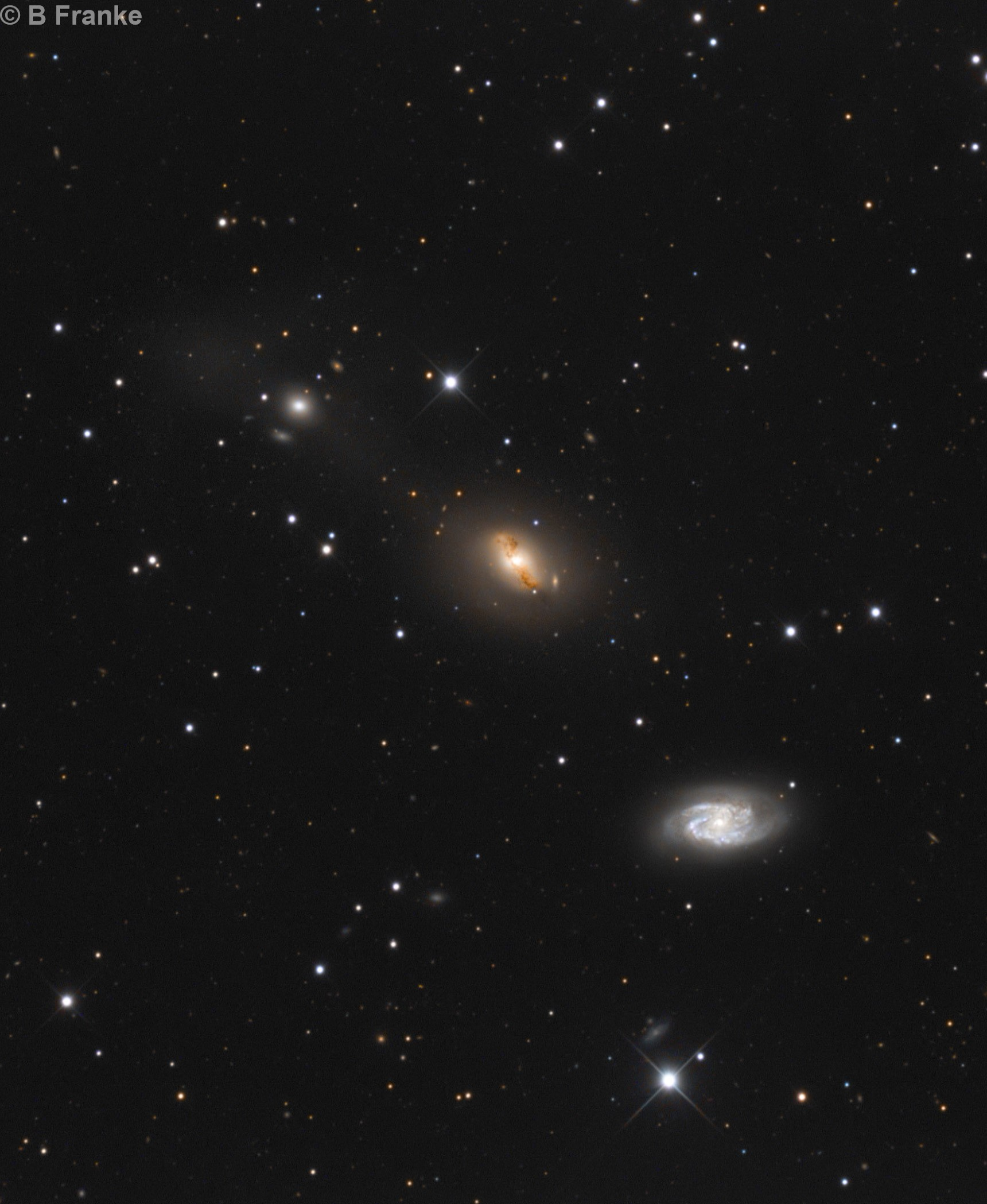 NGC 2964  2968  2970