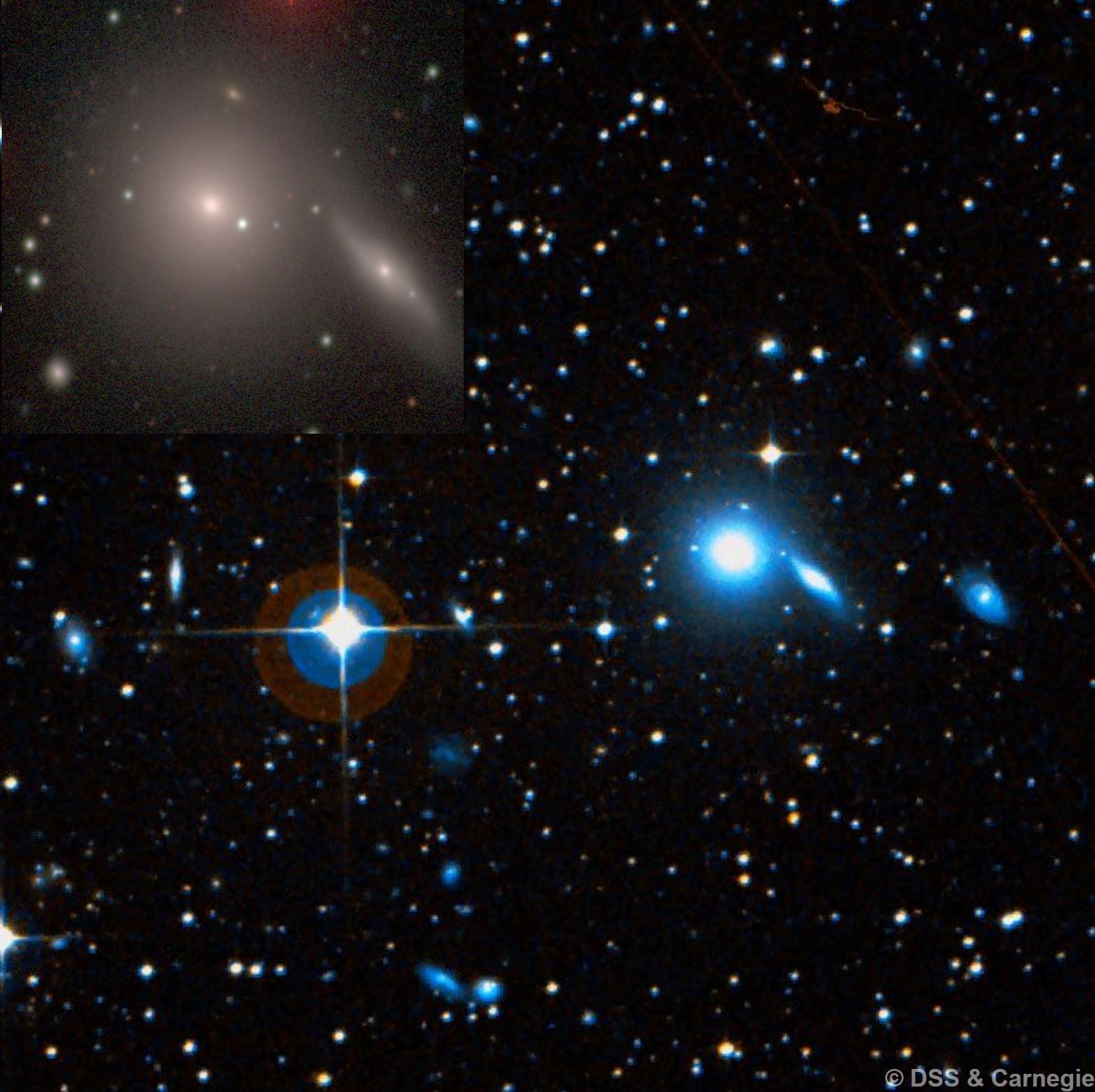 NGC 5193 & NGC 5193A