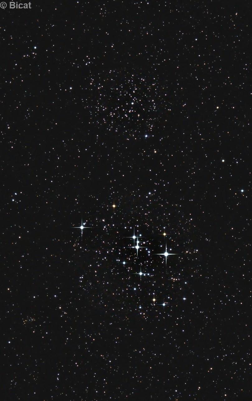 M 47 & NGC 2423