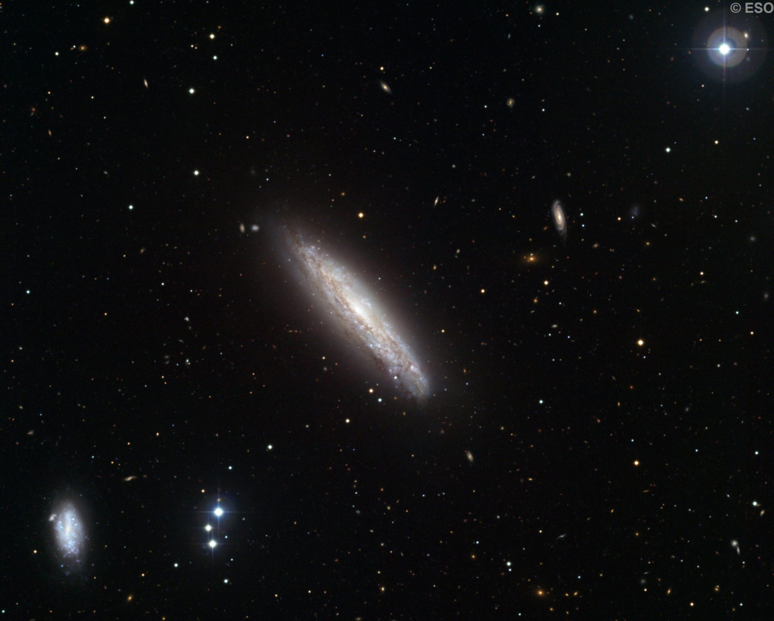 NGC 4666 & NGC 4668