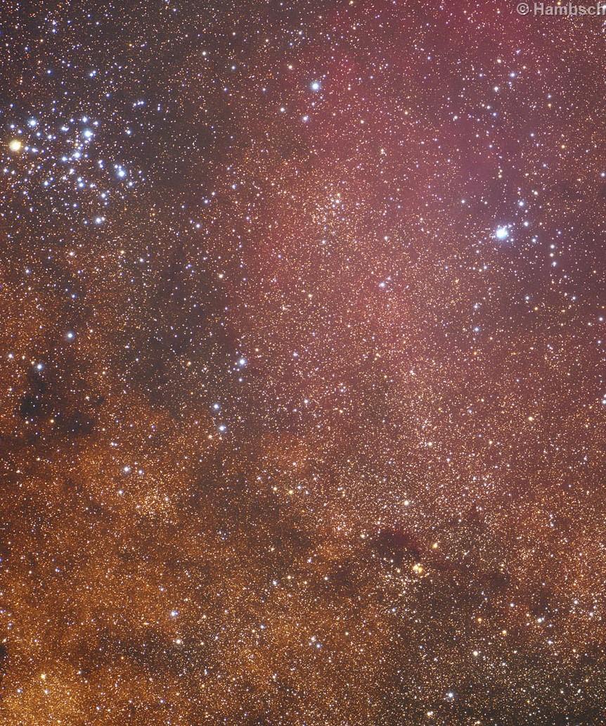 NGC 6383 & NGC 6404 & Trumpler 27 & Trumpler 28