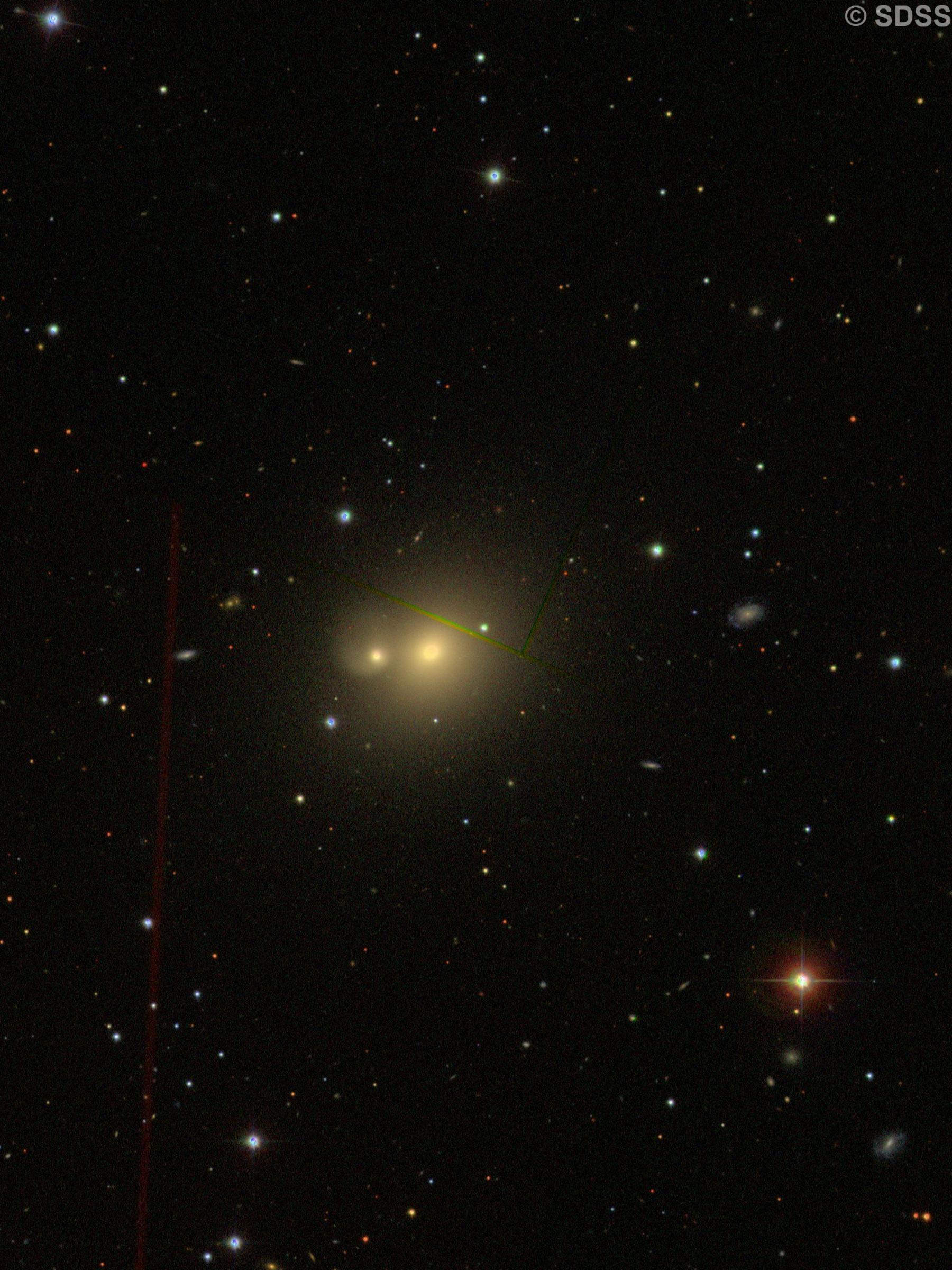 NGC 2672 + NGC 2673 = Arp 167