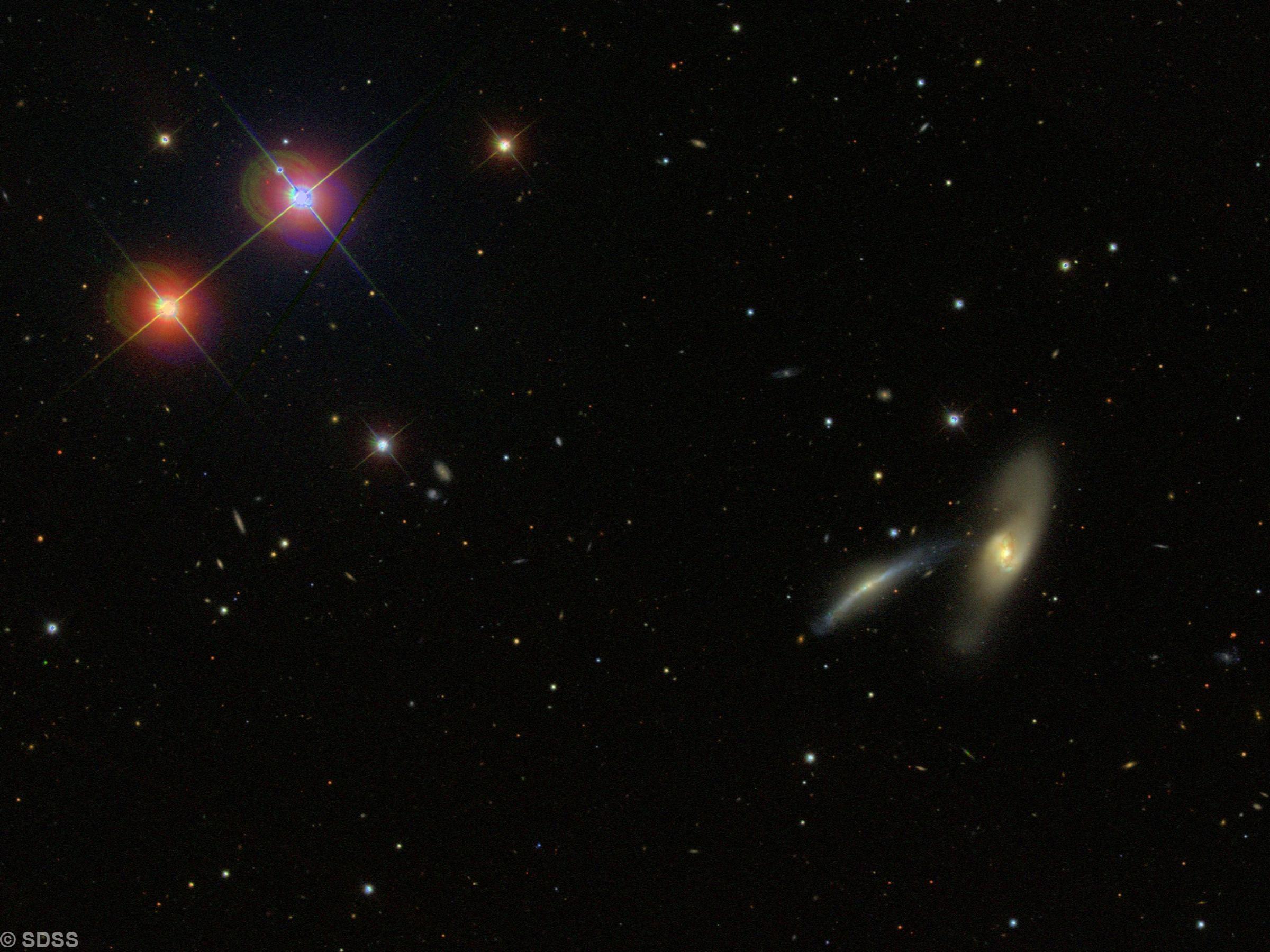 NGC 2798  2799  (Arp 283)